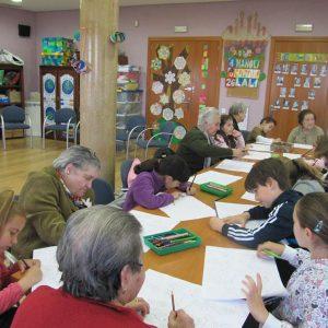 Actividad intergeneracional – Semana Santa 2012