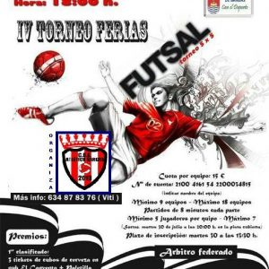 IV Torneo ferias – Futsal 5×5