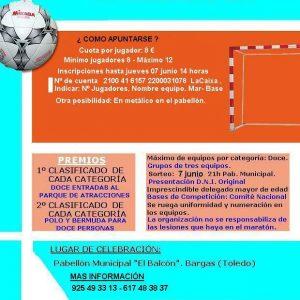 IX Maratón de Fútbol Sala Base