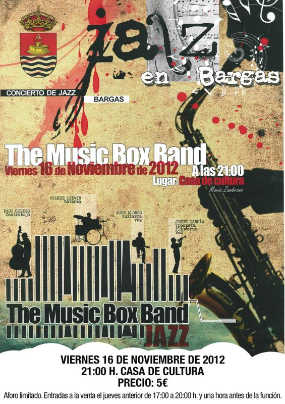 Concierto de Jazz en Bargas – The Music Box Band