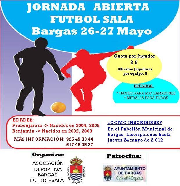 Jornadas abiertas fútbol sala