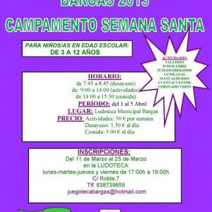 CAMPAMENTO DE SEMANA SANTA en BARGAS