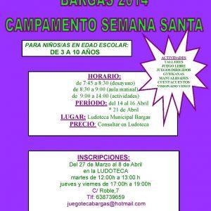 Campamento de Semana Santa 2014 – Juegoteca