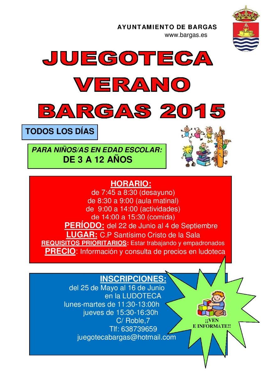 Juegoteca Verano Bargas 2015