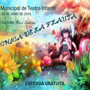 Taller Municipal de Teatro Infantil: La chica de la flauta»»