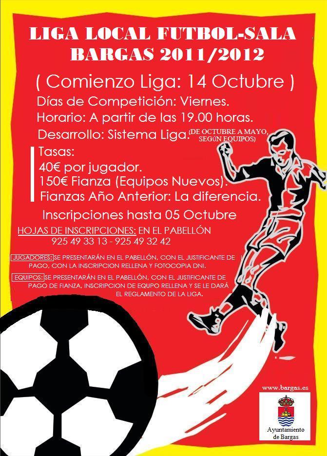 Comienza la Liga Local de Fútbol Sala 2011-2012