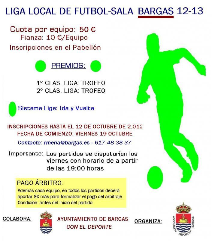 Liga Local de Futbol Sala 2012-13