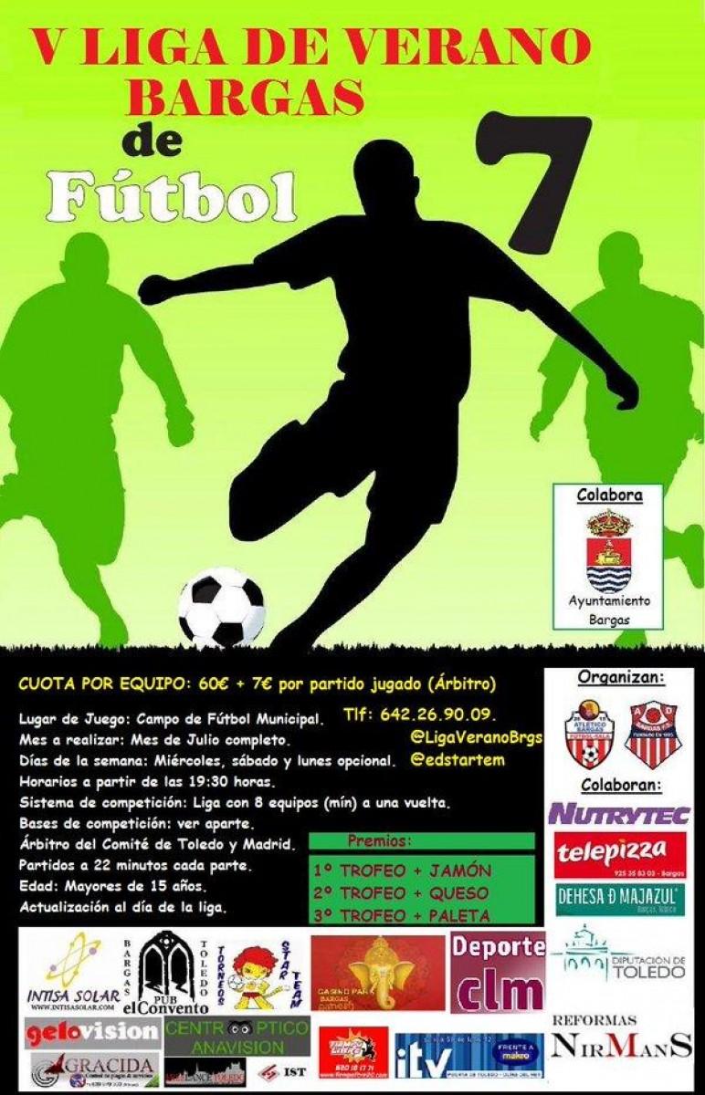 V Liga de Verano de Fútbol 7 – Bargas
