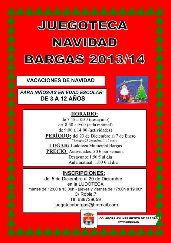 Juegoteca – Navidad 2013-14