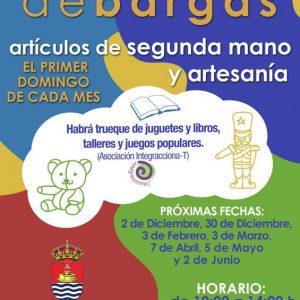TALLERES DE CONFECCIÓN DE MÁSCARAS Y OBJETOS DE CARNAVAL PARA LA NUEVA EDICIÓN DE EL RASTRILLO DE BARGAS