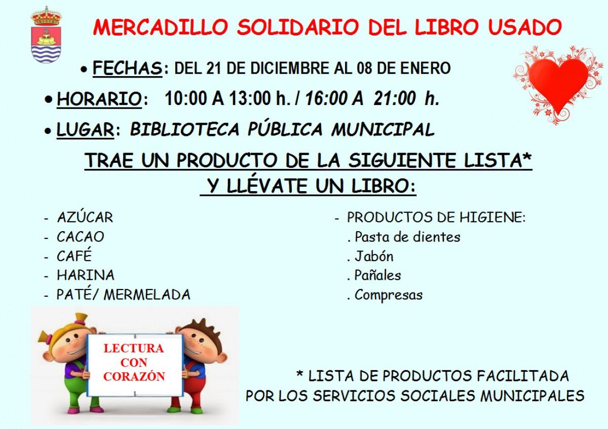 Mercadillo Solidario – Biblioteca Pública Municipal