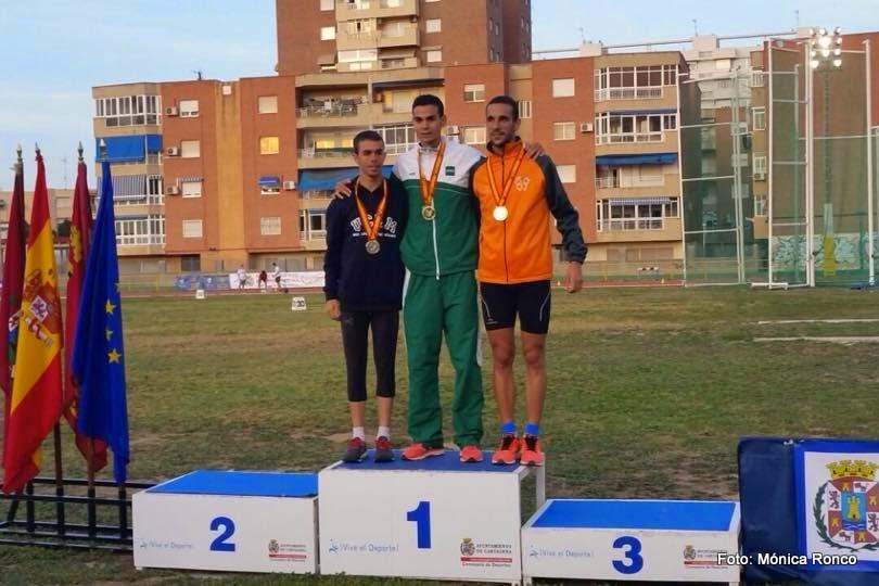 Ángel Ronco, Subcampeón de España Universitario.