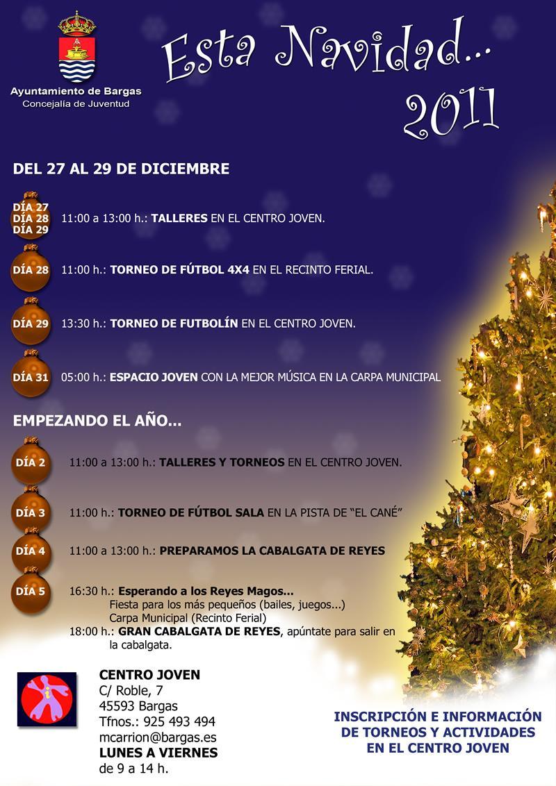 Talleres y Torneos en el Centro Joven. Esta Navidad … 2011