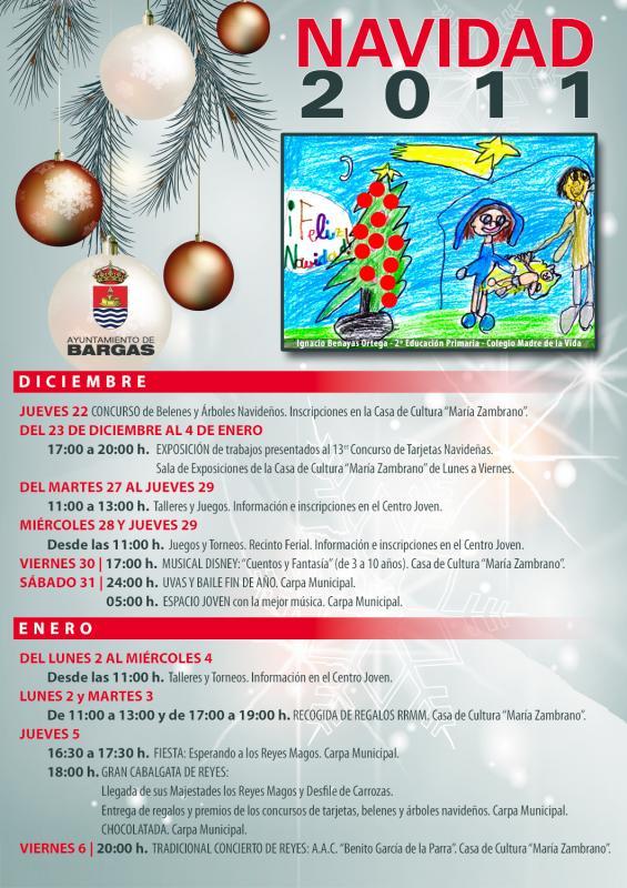 Programación de Navidad 2011