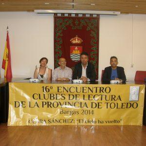 XVI ENCUENTRO DE CLUBES DE LECTURA DE LA PROVINCIA DE TOLEDO