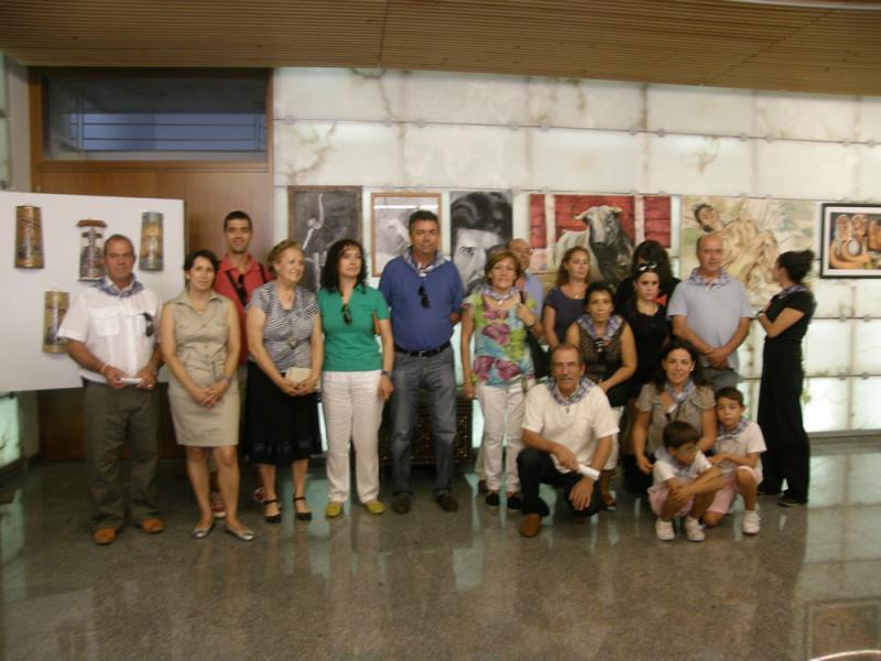 BARGAS ABRE UN AÑO MAS SUS PUERTAS A LA EXPOSICION DE ARTISTAS BARGUEÑOS