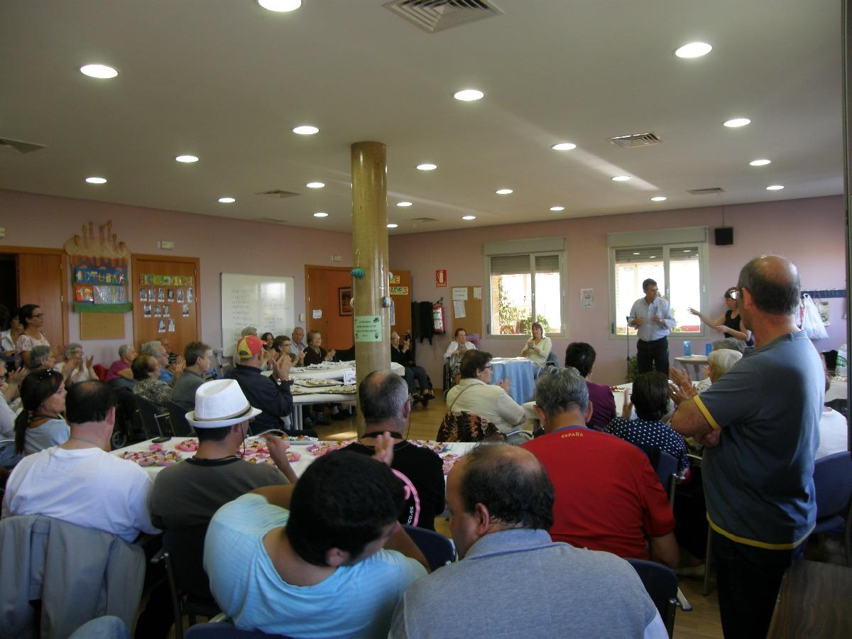 Un año más el Ayuntamiento de Bargas celebra con sus mayores el día Internacional de las Personas Mayores.
