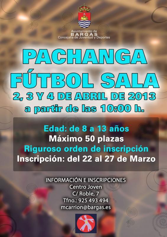 Pachanga Fútbol Sala 2013 (de 8 a 13 años)