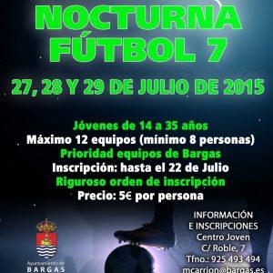 Pachanga nocturna Fútbol 7