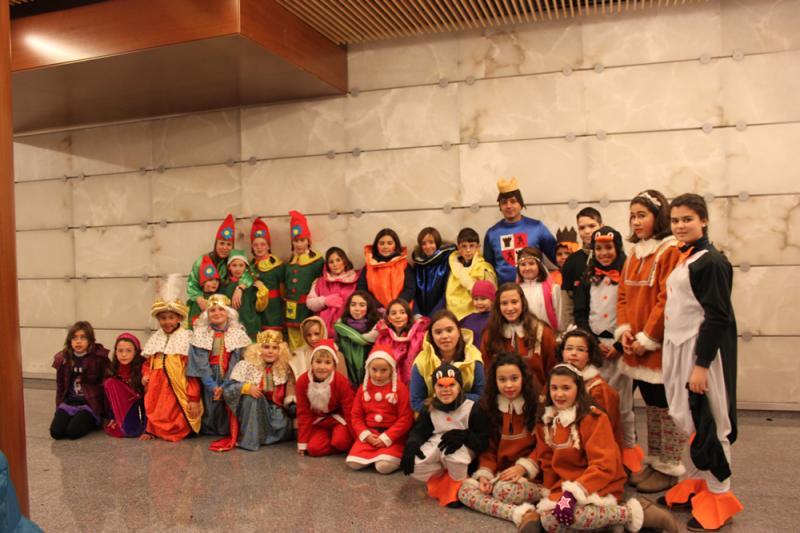 Foto de los participantes en la Cabalgata Navidad 2013