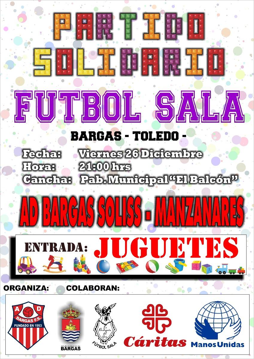 Partido solidario de Fútbol Sala