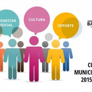 Cursos Municipales 2015-2016