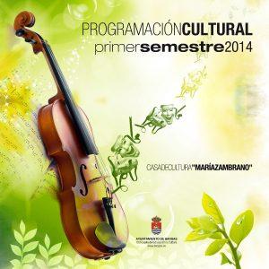 Programación Cultural – 1º Semestre 2014