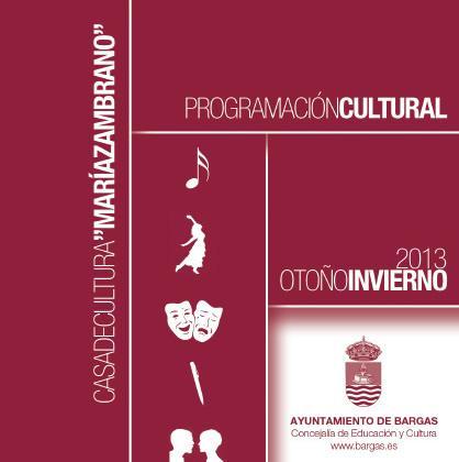 Programación Cultural Otoño – Invierno 2013