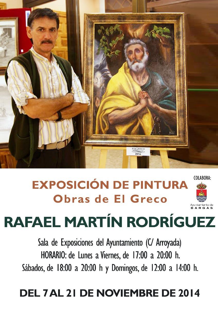 Exposición de Pintura – Rafael Martín Rodríguez