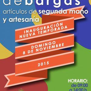INAUGURACIÓN DE LA NUEVA TEMPORADA DEL RASTRILLO DE BARGAS – Domingo, 8 de noviembre