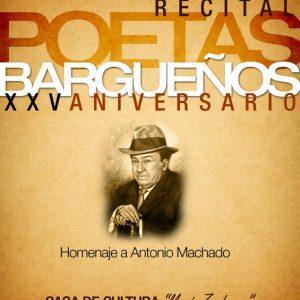 RECITAL DE POETAS BARGUEÑOS, 25 ANIVERSARIO