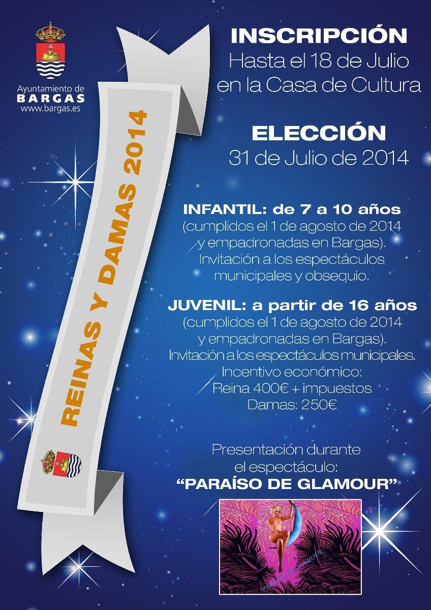 Elección Reinas y Damas de las Fiestas 2014