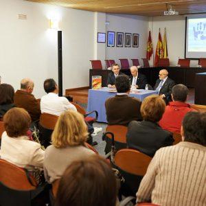 """Presentación del libro Las manos del Greco"""" en Bargas."""""""