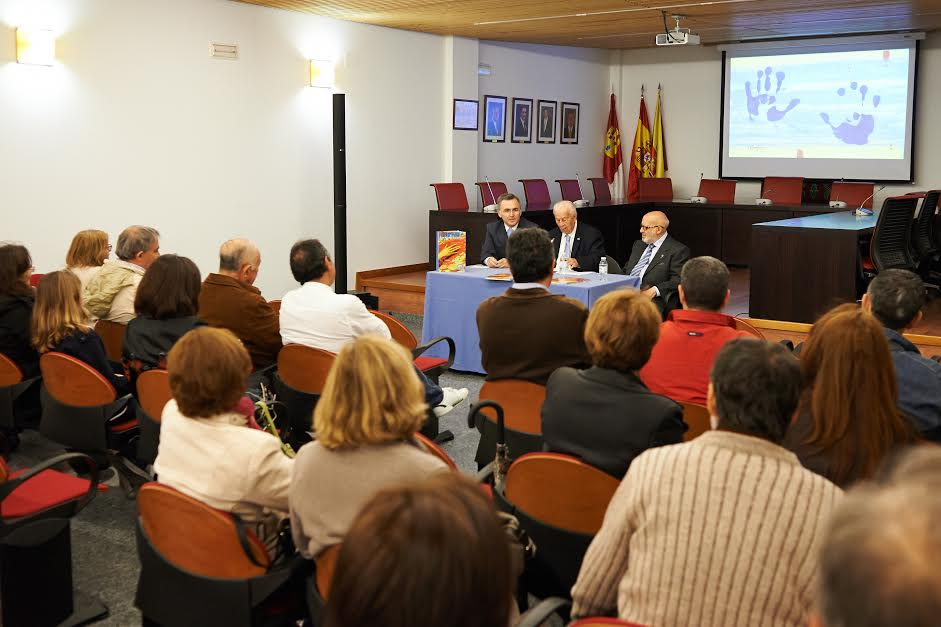 Presentación del libro Las manos del Greco» en Bargas.»