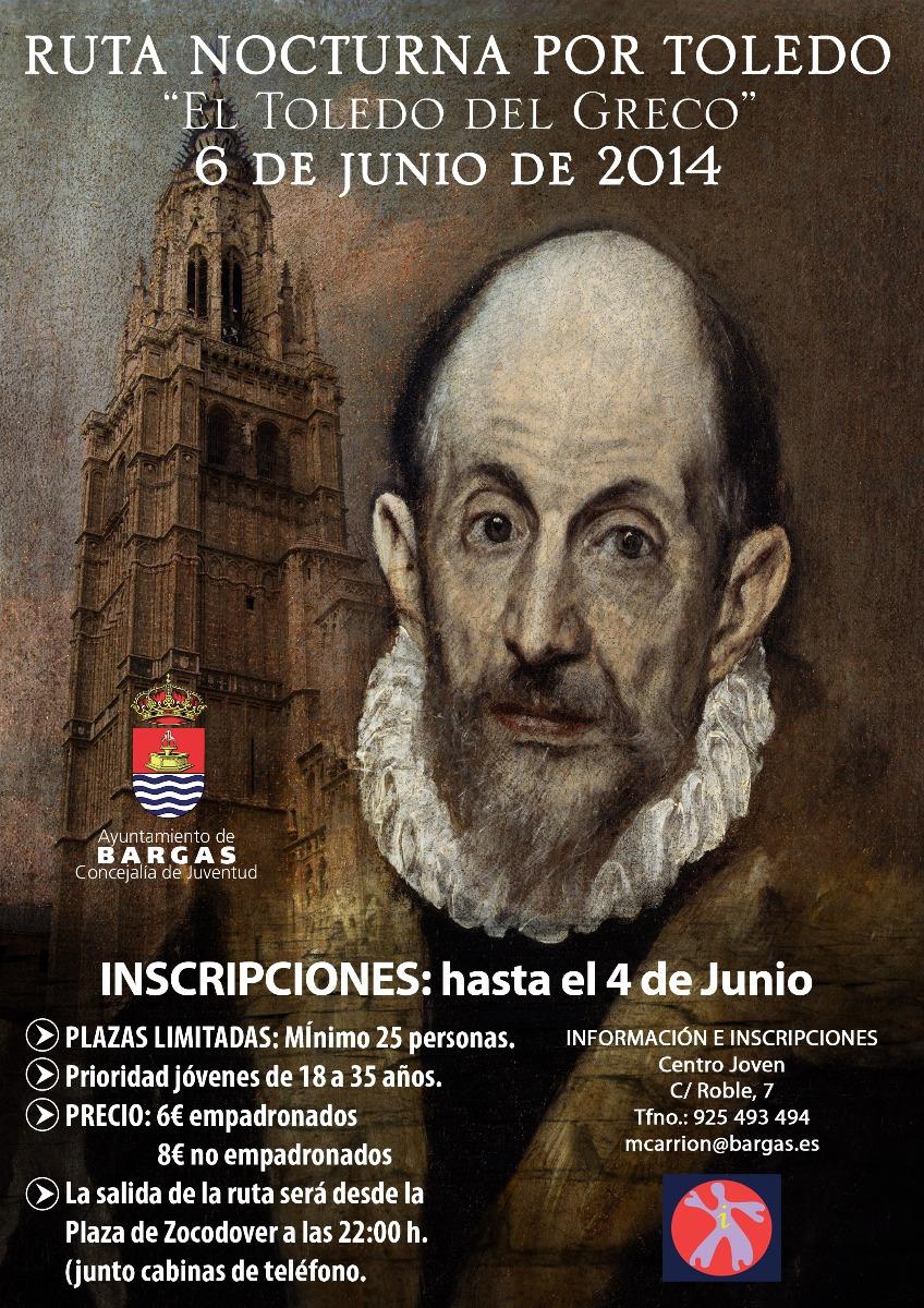 Ruta nocturna por Toledo. El Toledo del Greco».»