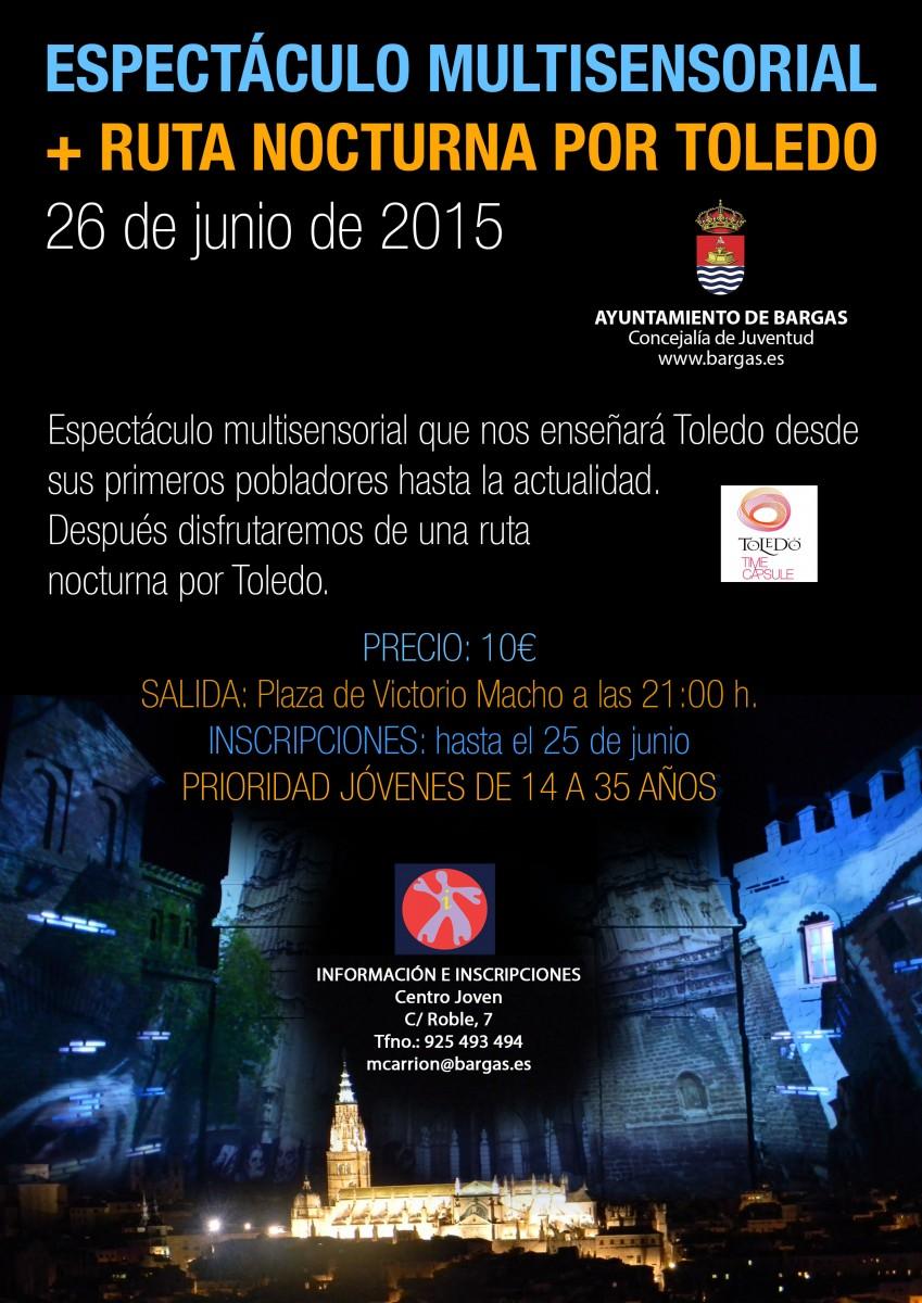 Espectáculo Multisensorial + Ruta Nocturna por Toledo