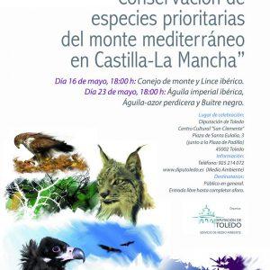 Seminarios sobre conservación de especies protegidas.