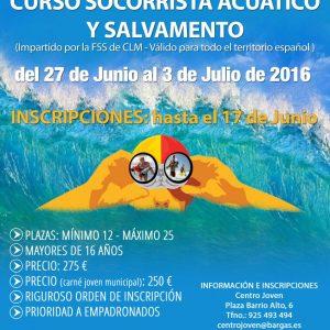 Curso de socorrista acuático y salvamento – 2016