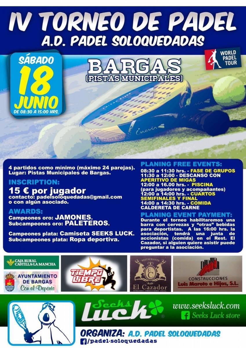IV Torneo de Padel – A.D. Padel Soloquedadas