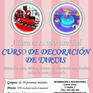 CURSO DE DECORACIÓN DE TARTAS