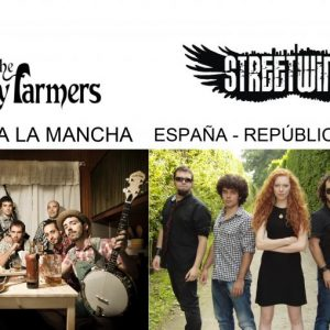 CONCIERTO MÚSICA CELTA – STREET WINGS» + «THE FATTY FARMERS» – Verano Cultural 2013″