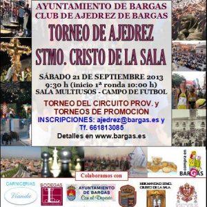 Torneo de Ajedrez – Stmo. Cristo de la Sala – Bargas 2013