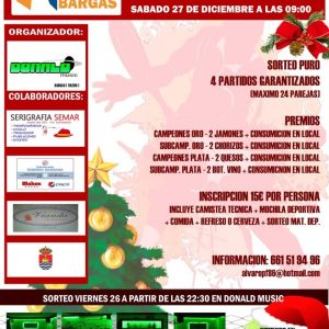 Torneo de Padel – Navidad 2014