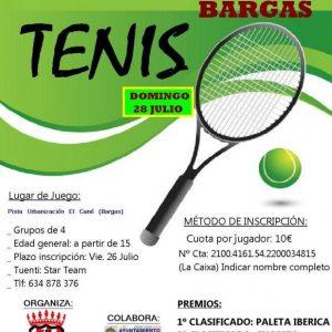 Tenis – Torneo El cané
