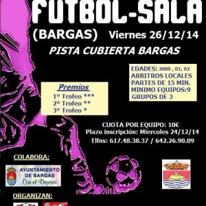 Torneo Infantil Navideño de Futbol-Sala