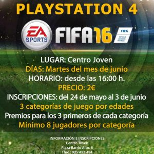 Torneo Playstation 4 – FIFA 2016