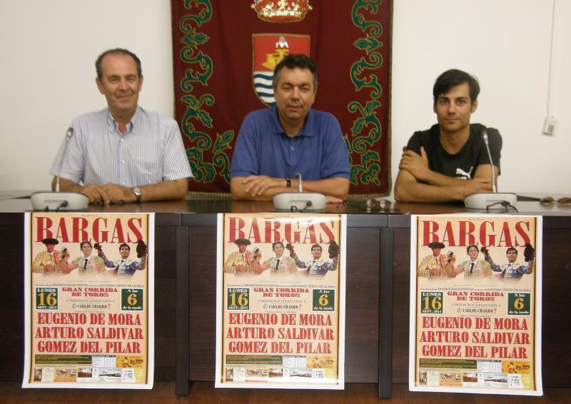 GRANDES FESTEJOS TAURINOS EN BARGAS CON MOTIVO DE LAS FIESTAS 2013