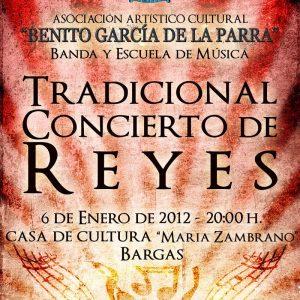 Tradicional Concierto de Reyes.