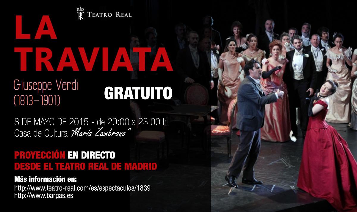 """NOVEDAD: La Traviata"""" desde el Teatro Real de Madrid en directo."""""""