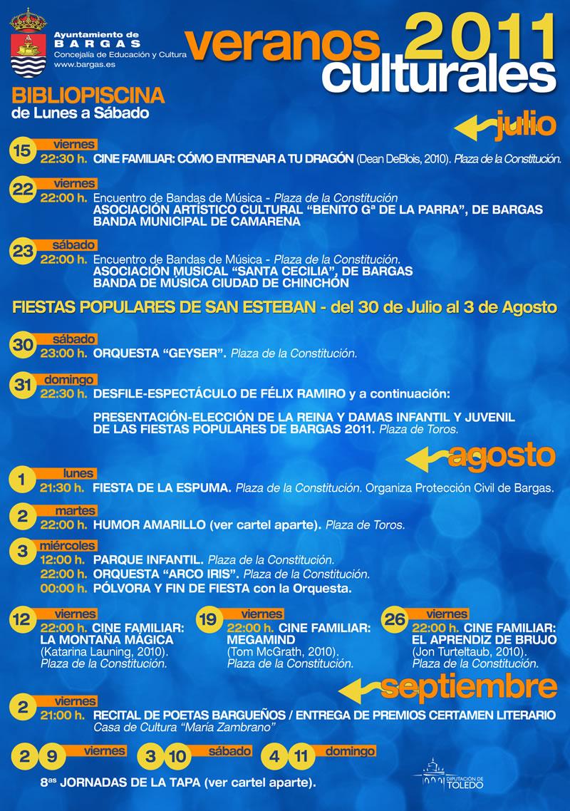 Veranos Culturales 2011